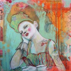 I Adore This Piece(Lili)-She Went To The Opera but Dreamt Of The Circus by Maria Pace-Wynters