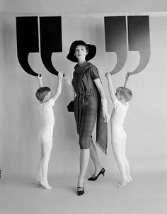 Lucinda Hollingsworth for a fashion advertisement for agency: Altman-Stoller, 1960, New York