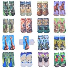 3d Printed Socks Women New Low Cut Ankle Funny Sock Summer New Fashion Women's Casual Cotton Animal Socks //Price: $2.49 & FREE Shipping //     #FUNNYSOCKS #FUNSOCKS #FUNKYSOCKS #SOCKS #SOCKSWAG #SOCKSWAGG #SOCKSELFIE #SOCKSLOVER #SOCKSGIRL #SOCKSTYLE #SOCKSFETISH #SOCKSTAGRAM #SOCKSOFTHEDAY #SOCKSANDSANDALS #SOCKSPH #SOCK #SOCKCLUB #SOCKWARS #SOCKGENTS #SOCKSPH #SOCKAHOLIC #BEAUTIFUL #CUTE #FOLLOWME #FASHION