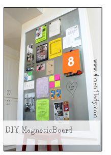 Project Pinterest: Hanging Magnetic Chalkboard Trays | Diy Magnetic Board,  Magnetic Chalkboard And Chalkboards