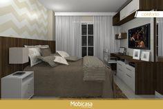 Não perca a oportunidade de mobiliar sua casa, aqui você terá móveis planejados 100% MDF e com seu estilo! Garantia de produtos de qualidade. Este quarto de casal inclui: Criado-mudo, cabeceira, balcões, prateleira, aéreos.  #Mobicasa #ambientes #casa #móveisplanejados #mdf #quarto #dormitório