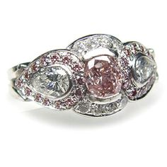 Fancy Pink Ring