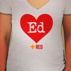 Ed Sheeran Taylor Swift Red tour Tshirts for sale $30.00. Email to order cmontag@ncsu.edu