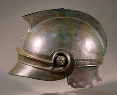 Greek helmet. Location: Melos (Greece).  © Foto: Antikensammlung der Staatlichen Museen zu Berlin - Preußischer Kulturbesitz