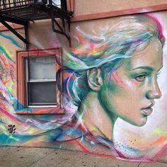 "365 Likes, 16 Comments - Thiago Valdi (@thiagovaldi) on Instagram: ""Freedom is #colorful #newyork #streetart """