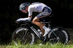 Tony Martin (Germany) powers to victory in the Worlds TT