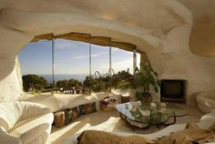 A beautiful, modern, cave in Cappadocia