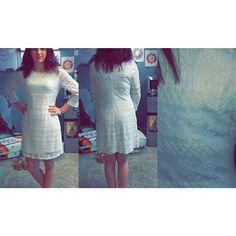 Selling this White Dress in my Poshmark closet! My username is: natalie_marie66. #shopmycloset #poshmark #fashion #shopping #style #forsale #As U Wish #Dresses & Skirts