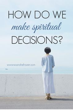 Do you pray and seek the Lord when you need to make a decision? Don't miss the powerful way you can grow in faith as you make a decision based on God's wisdom. || Sarah E. Frazer Wise Decisions, God's Wisdom, Bible Study Tips, Seek The Lord, Gods Glory, Walk By Faith, God First, S Word, Christian Women