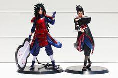 2pcs/set Anime Naruto Uchiha Madara Uchiha Sasuke PVC Action Figures Model Toys 17cm Free Shipping //Price: $US $13.86 & FREE Shipping //     #toys