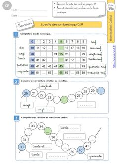 Math Vocabulary, Kids Math Worksheets, French Lessons, Math For Kids, Bullet Journal, School, Names, Kindergarten Math Activities, Kindergarten Portfolio
