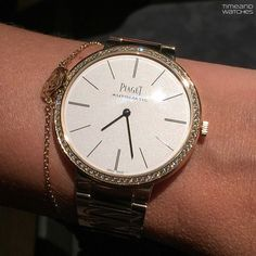 cd1ebdf895c Piaget Altiplano watch in 18K pink gold set with 68 brilliant-cut diamonds  (approx · Conjunto De OuroRosa E OuroPulseira ...