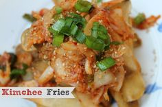 Kimchee Fries - Light with a Kick