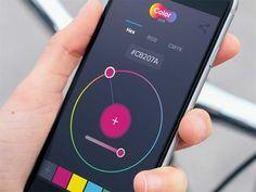 Freebie: Color Picker App PSD UI element - http://www.vectorarea.com/freebie-color-picker-app-psd-ui-element