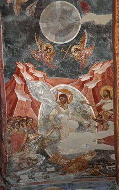 Tempera, Fresco, Orthodox Icons, Mural Painting, Kirchen, Ufo, Jesus Christ, Catholic, Roman
