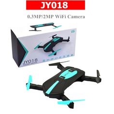 Global Drone JY018 Foldable Mini Drone Selfie Drone Pocket Dron with WiFi Camera FPV Quadcopter rc Helicopter vs xs809hw xs809w //Price: $34.34//     #storecharger