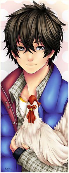 Tonari no Kaibutsu-kun  :OOOOO He has the chicken. *hushed whisper*