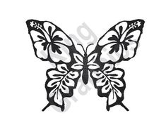Butterfly Template Flower Ornament CNC DXF file features beautiful butterfly flower ornament illustrated in artistic theme.Once this Butterfly Template . Butterfly Stencil, Butterfly Clip Art, Butterfly Drawing, Butterfly Template, Flower Stencils, Butterfly Design, Clipart, Flower Ornaments, Silhouette Design