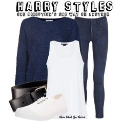 One Direction's One Way Or Another Outfit Style For Harry Styles