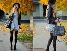 Bag, Tights, Shoes