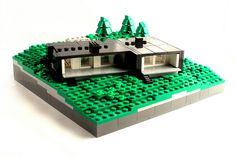 Lego Mocs Micro ~ Hillside Villa | by O0ger