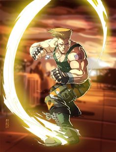 Guile Colors by Fpeniche on DeviantArt Guile Street Fighter, Street Fighter Game, Street Fighter Characters, Snk King Of Fighters, Arcade, Mortal Combat, Game Character Design, Video Game Characters, Fighting Games