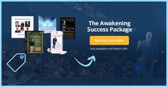 Start living with #abundance & creating your dream #life with 40% off my Awakening #Success Package!
