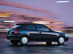 1997 Honda Civic Hatchback - Sixth Generation (1996 - 2000) -- Love my lil' car!