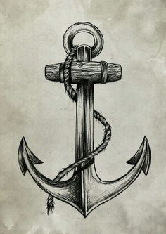 Lumberjack vs Sailor by Anderson Alves, Anchor, Tattoo Hand Tattoos, Neue Tattoos, Body Art Tattoos, Tattoo Drawings, Sleeve Tattoos, Marine Tattoos, Tattoo Scorpion, Anker Tattoo Design, Maritime Tattoo
