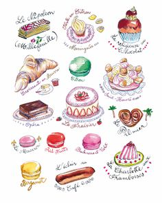 French Pastries! by