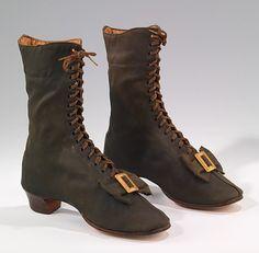 GAITER BOOTS 1860s