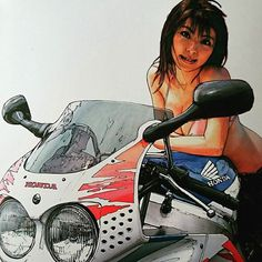 #ライダー#バイク乗り#バイク女子#女性ライダー #ホンダ #CBR900RR  1992年…
