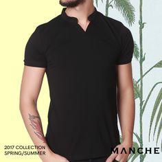 Yazın her anına ortak olacak hakim yaka t-shirtler stilinizin tamamlayıcısı oluyor. 👉 http://www.manche.com.tr/koleksiyon/yaz-koleksiyonu/hakim-yaka-basic-tişört-siyah