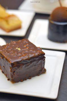 Ferrero Rocher Cake. No Recipe, just an idea.