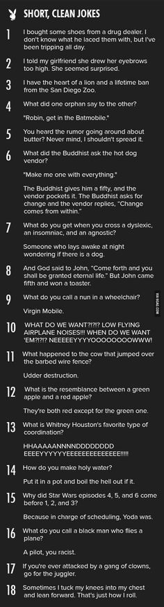 Funny pictures about The Best Short Jokes. Oh, and cool pics about The Best Short Jokes. Also, The Best Short Jokes photos. Best Short Jokes, Short Clean Jokes, Good Clean Jokes, Clean Funnies, Good Jokes, Humor Grafico, Haha Funny, Funny Stuff, Funny Puns