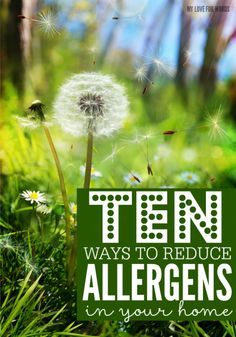 Reduce allergens May 21 2015