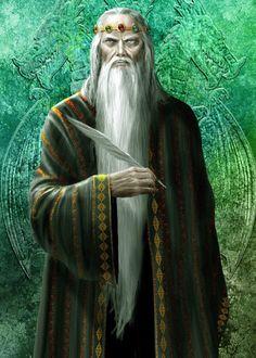 König Jaehaerys I. Targaryen (34 - 103 n.A.E.), jüngster Sohn von Aenys I. und Alyssa Velaryon (von Amok).