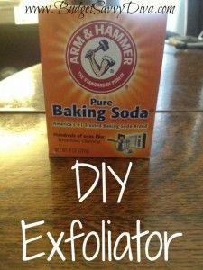 Use Baking Soda as an Exfoliator