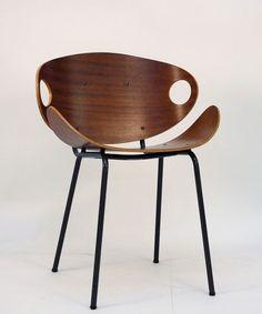 Olavi Kettunen. Chair, designed circa 1955.  by Merivaara