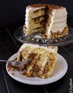 Tiramisu Cake - I Say Nomato Nightshade Free Food Blog