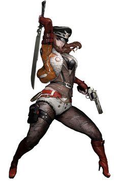 Gunslinger Elena