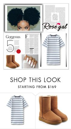 """""""Australia Classic UGG's"""" by paulahastings ❤ liked on Polyvore featuring Lacoste L!VE, UGG and Nicki Minaj"""