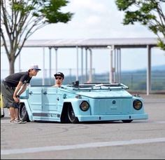 Slammed Vw Thing