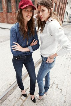 Madewell's Fall Denim Makes It Okay To Rush Through Summer #refinery29  http://www.refinery29.com/2014/07/71925/madewell-fall-denim#slide8