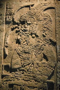 Maya Royal- This is a beautifully carved Maya stela from the collection of the Tamayo Museum in Oaxaca. The stela is carved in the Usumacinta Basin style, but there is no indication where this piece was found | Flickr - Photo Sharing!