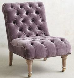 loving this purple chair! http://rstyle.me/n/sua7nbna57