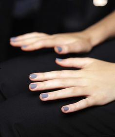 Nail Color Inspiration: Lavender Grey #manicure #nails #nailpolish