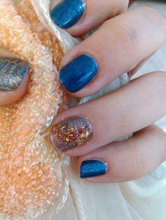 Nail Art Pekevision: How To: Nail Art Autumn ( Deborah Milano ) Diseño ...