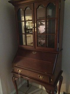 Another Lovely Secretary With Glass Door Storage Above New Divide U0026 Conquer  Sale Starting This Thursday