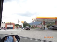 Gasolinera Shell Asiole y McDonald's en Amatitlán